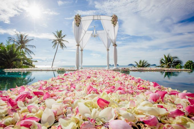 Lucas & Kathleen  Hlightlight photo wedding at conrad samui by BLISS Events & Weddings Thailand - 001