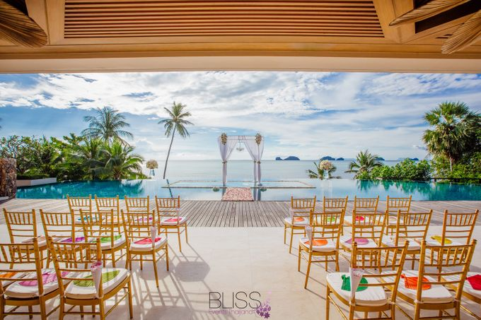 Lucas & Kathleen  Hlightlight photo wedding at conrad samui by BLISS Events & Weddings Thailand - 004