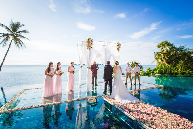 Lucas & Kathleen  Hlightlight photo wedding at conrad samui by BLISS Events & Weddings Thailand - 007