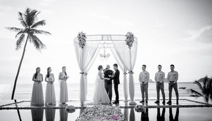 Lucas & Kathleen  Hlightlight photo wedding at conrad samui by BLISS Events & Weddings Thailand - 008