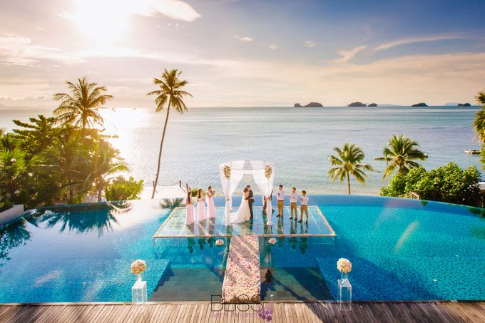 Lucas & Kathleen  Hlightlight photo wedding at conrad samui by BLISS Events & Weddings Thailand - 009