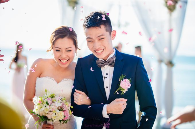 Lucas & Kathleen  Hlightlight photo wedding at conrad samui by BLISS Events & Weddings Thailand - 010