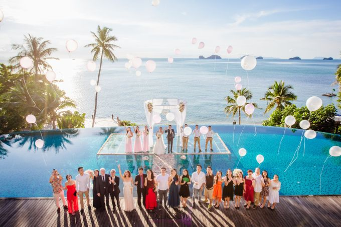 Lucas & Kathleen  Hlightlight photo wedding at conrad samui by BLISS Events & Weddings Thailand - 011