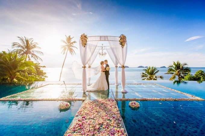 Lucas & Kathleen  Hlightlight photo wedding at conrad samui by BLISS Events & Weddings Thailand - 012