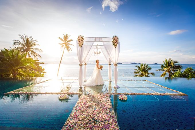 Lucas & Kathleen  Hlightlight photo wedding at conrad samui by BLISS Events & Weddings Thailand - 013