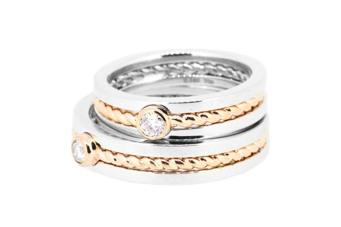 September Wedding Rings by Lino and Sons - 001