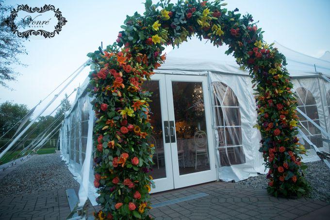 Garden Wedding by Vonre Events - 037