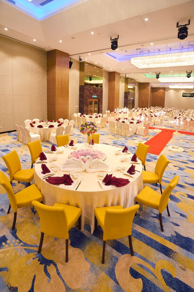 Grand Ballroom Wedding by Lexis Suites Penang - 003