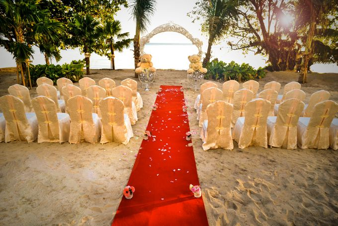 Beach Wedding Setup at Lexis Suites Penang by Lexis Suites Penang - 001