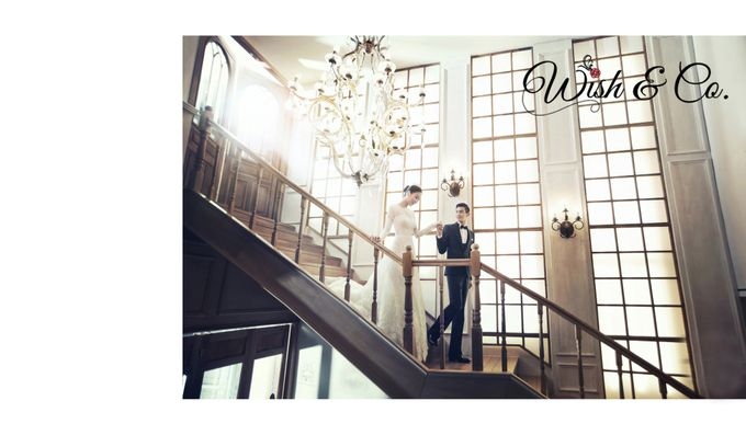 Classical yet modern romance - Indoor by Wish & Co. - 008