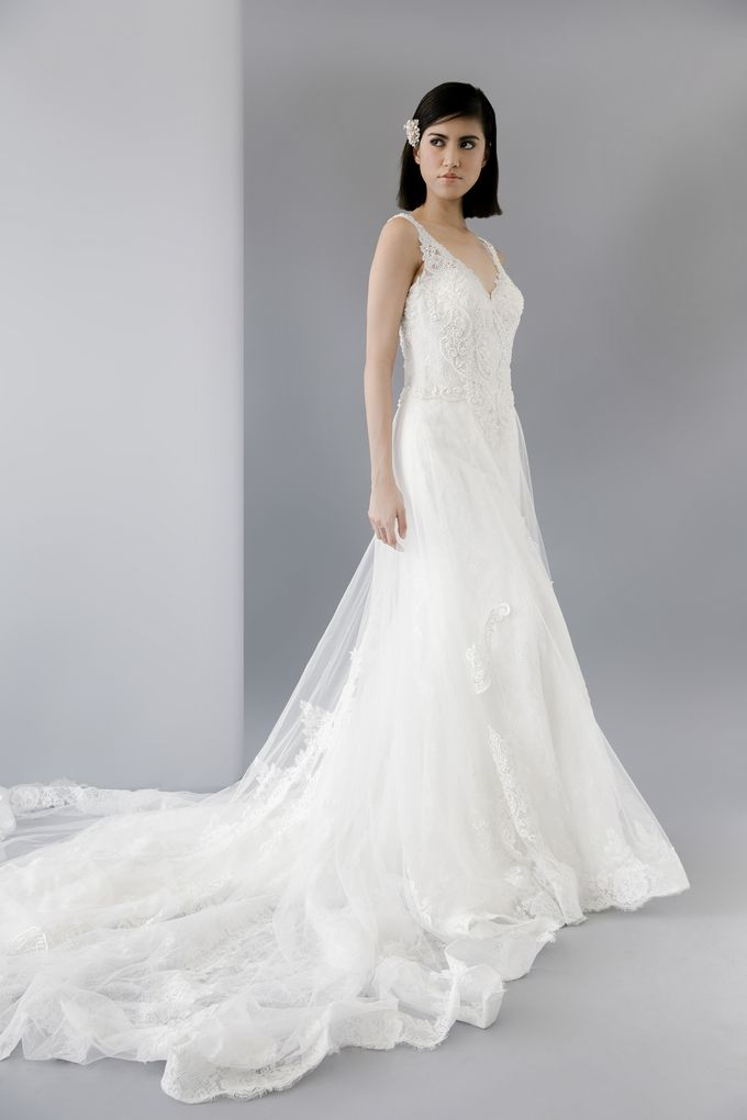 Lucia by Francis Libiran Bridal | Bridestory.com