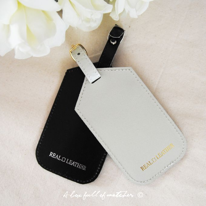 Mr & Mrs Luggage Tag and Passport Cover by A Box Full of Matches - 004