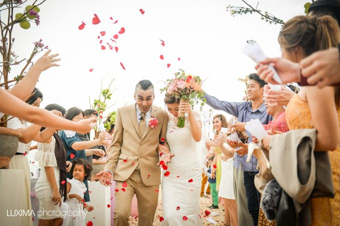 Livia & Bram Wedding day by Luxima Photography - 011