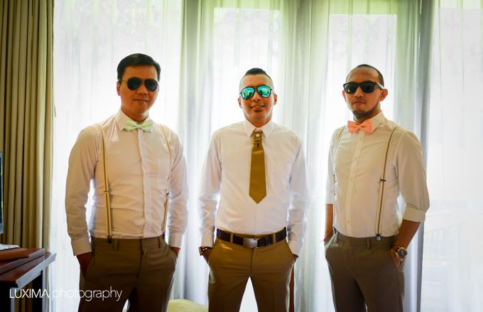 Livia & Bram Wedding day by Luxima Photography - 020