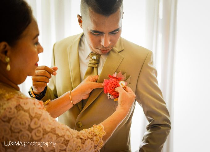 Livia & Bram Wedding day by Luxima Photography - 021