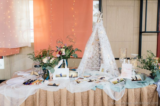 Larry & Jophia Wedding Celebration by Flour - 039