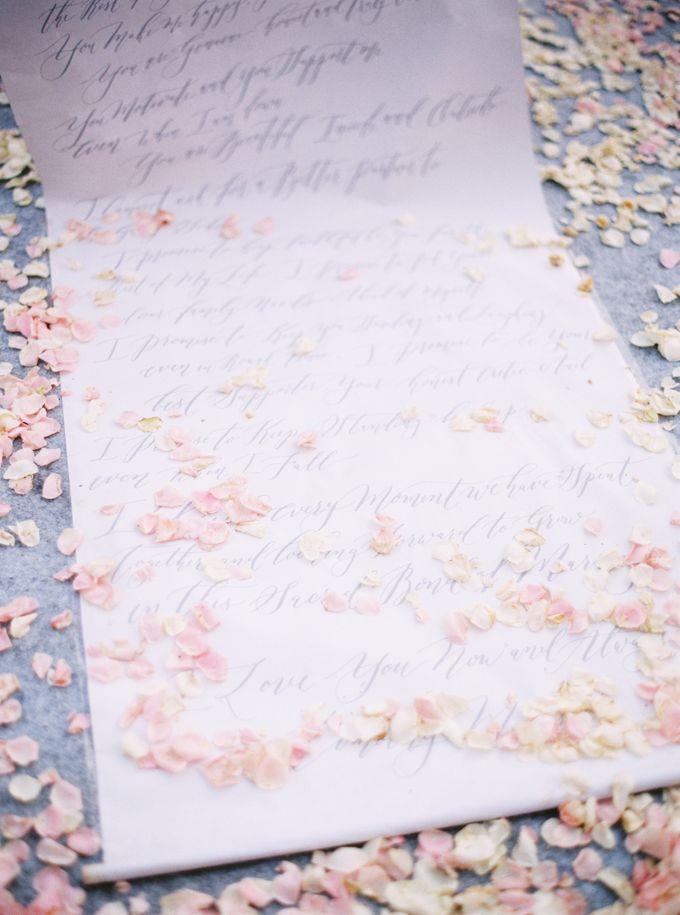 Timothy & Florence Wedding by Veronica Halim Calligraphy - 002