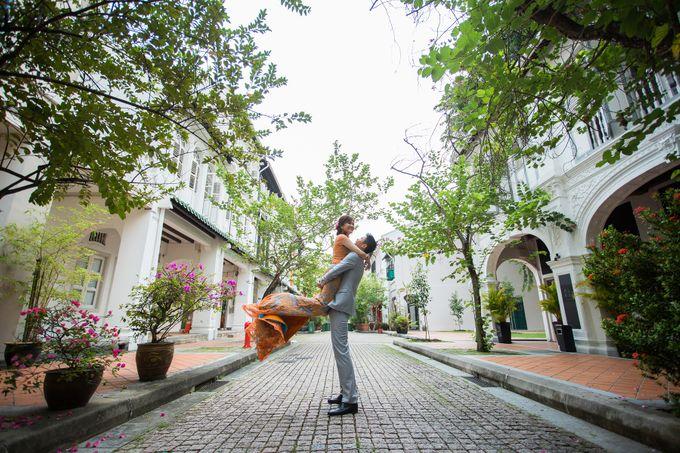 Modern Cheongsam by Dang Bridal - 002