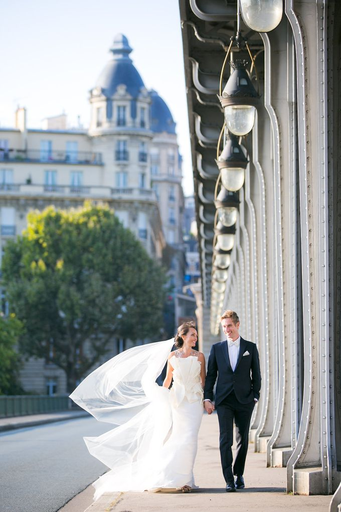 Real Wedding of Natasha & Jason by Luxe Paris Events - 005