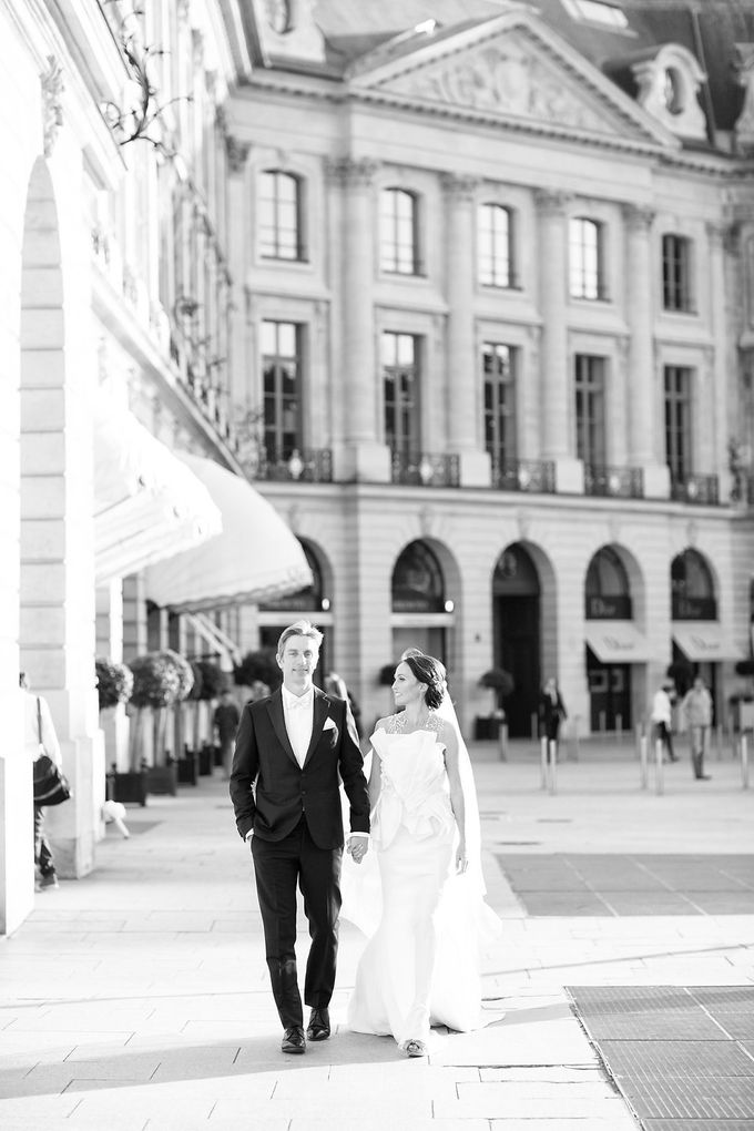 Real Wedding of Natasha & Jason by Luxe Paris Events - 010