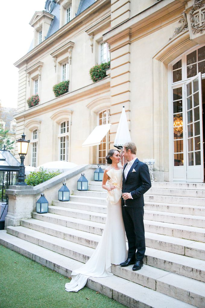Real Wedding of Natasha & Jason by Luxe Paris Events - 018
