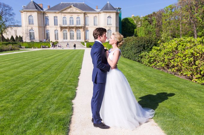 Real Wedding of Bridget & Brian by Luxe Paris Events - 009