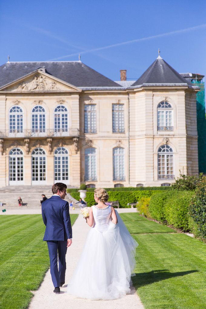Real Wedding of Bridget & Brian by Luxe Paris Events - 010