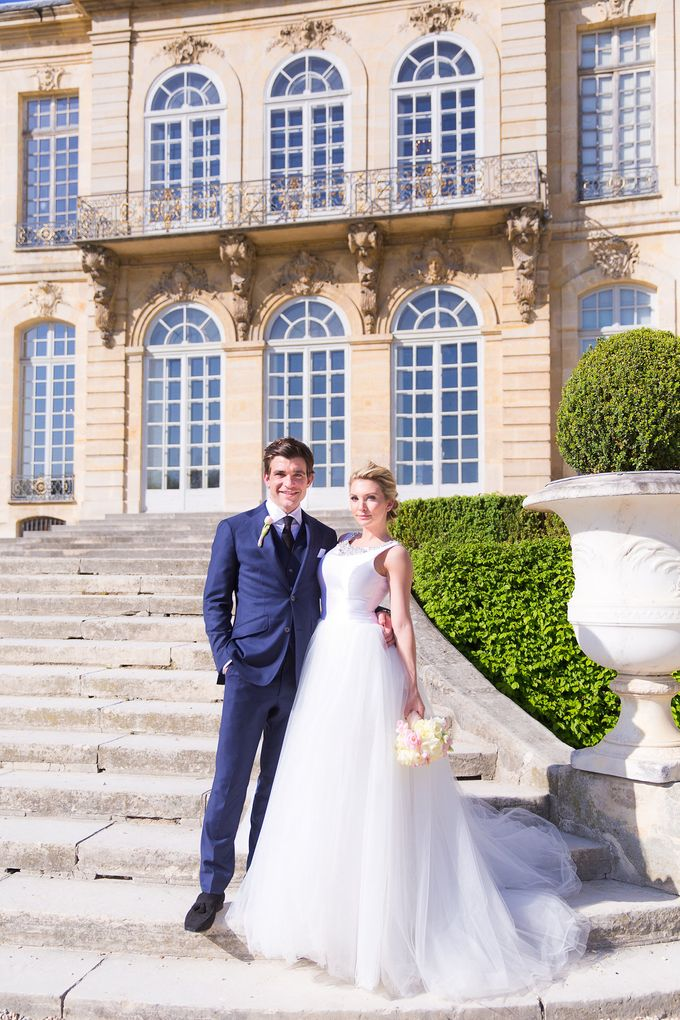 Real Wedding of Bridget & Brian by Luxe Paris Events - 011