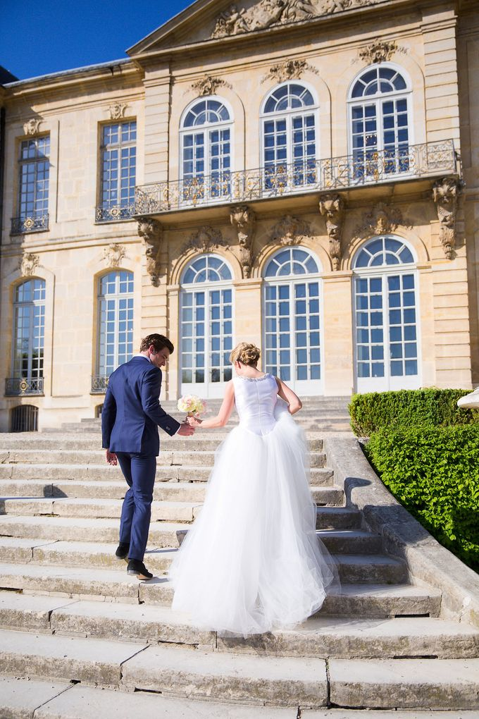Real Wedding of Bridget & Brian by Luxe Paris Events - 012