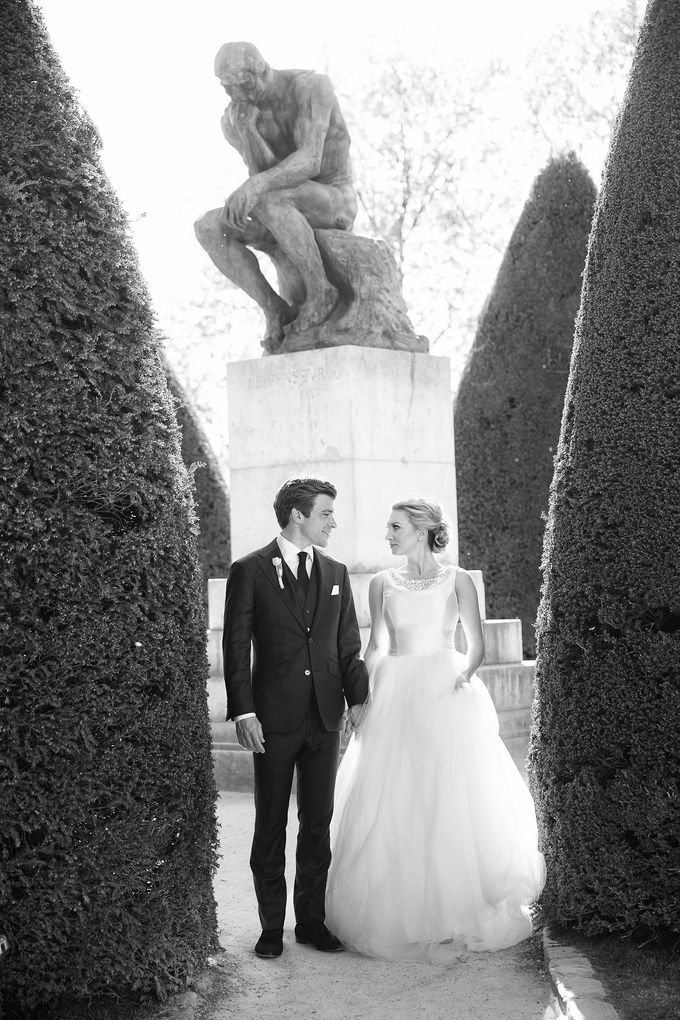 Real Wedding of Bridget & Brian by Luxe Paris Events - 013