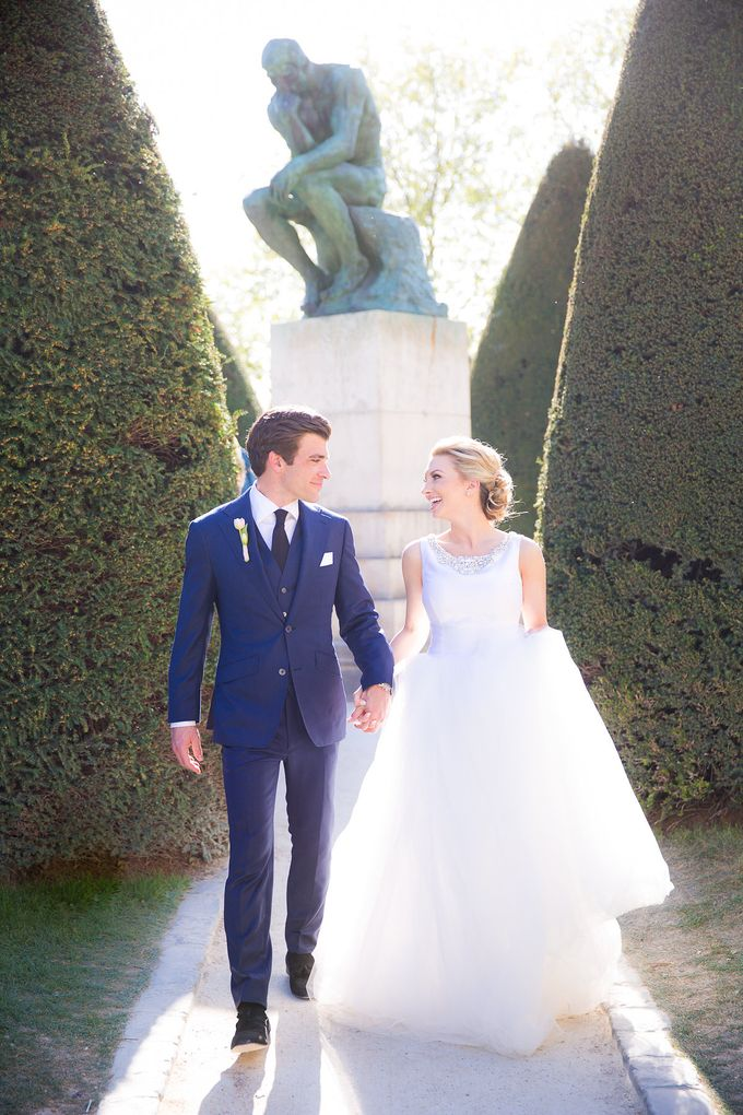 Real Wedding of Bridget & Brian by Luxe Paris Events - 014