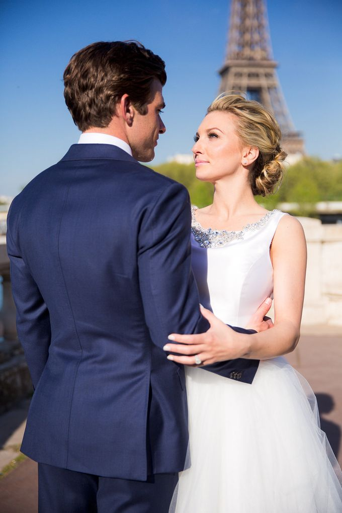 Real Wedding of Bridget & Brian by Luxe Paris Events - 016