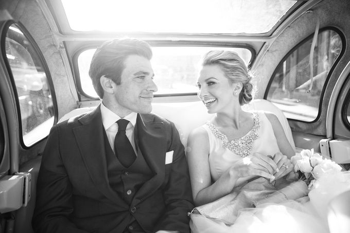 Real Wedding of Bridget & Brian by Luxe Paris Events - 018
