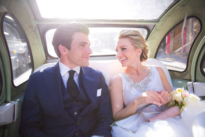 Real Wedding of Bridget & Brian by Luxe Paris Events - 019