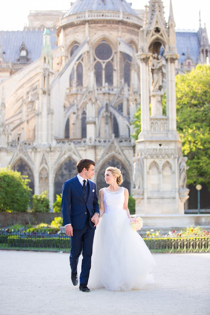 Real Wedding of Bridget & Brian by Luxe Paris Events - 020