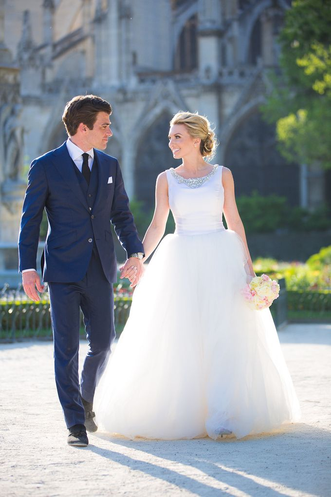 Real Wedding of Bridget & Brian by Luxe Paris Events - 024