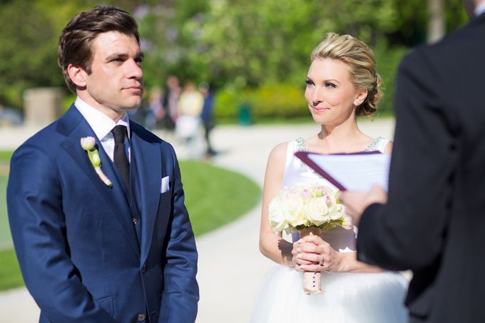 Real Wedding of Bridget & Brian by Luxe Paris Events - 001