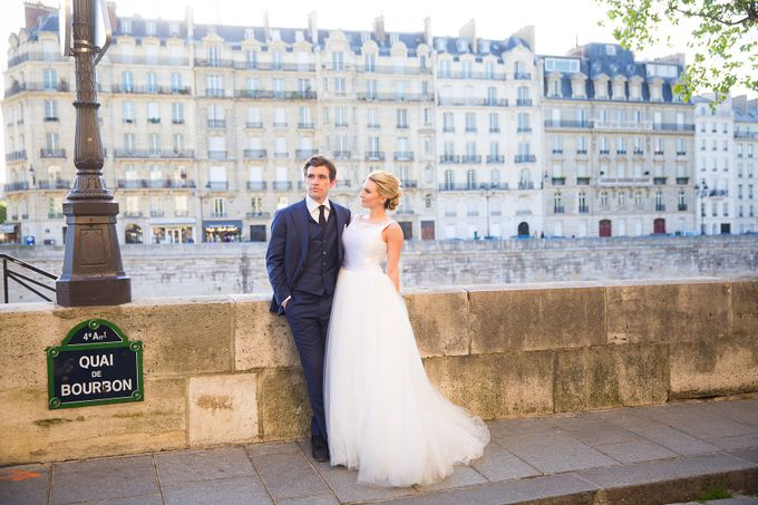 Real Wedding of Bridget & Brian by Luxe Paris Events - 027