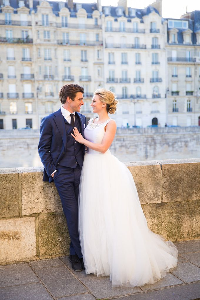 Real Wedding of Bridget & Brian by Luxe Paris Events - 028