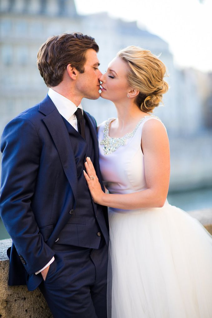 Real Wedding of Bridget & Brian by Luxe Paris Events - 029