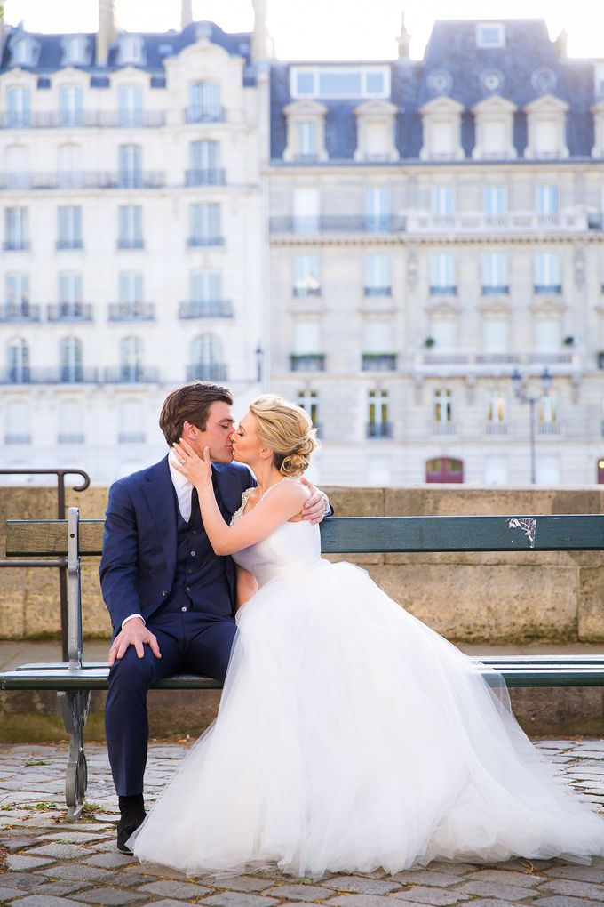Real Wedding of Bridget & Brian by Luxe Paris Events - 030