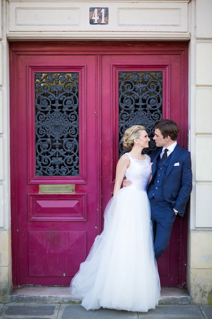 Real Wedding of Bridget & Brian by Luxe Paris Events - 032