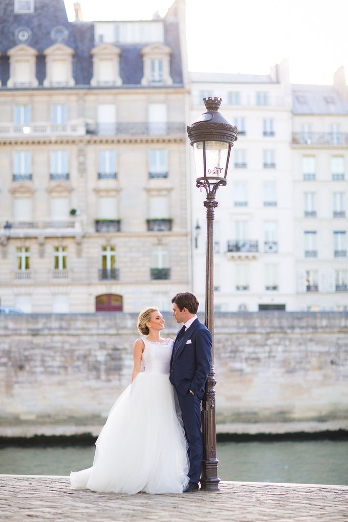 Real Wedding of Bridget & Brian by Luxe Paris Events - 034
