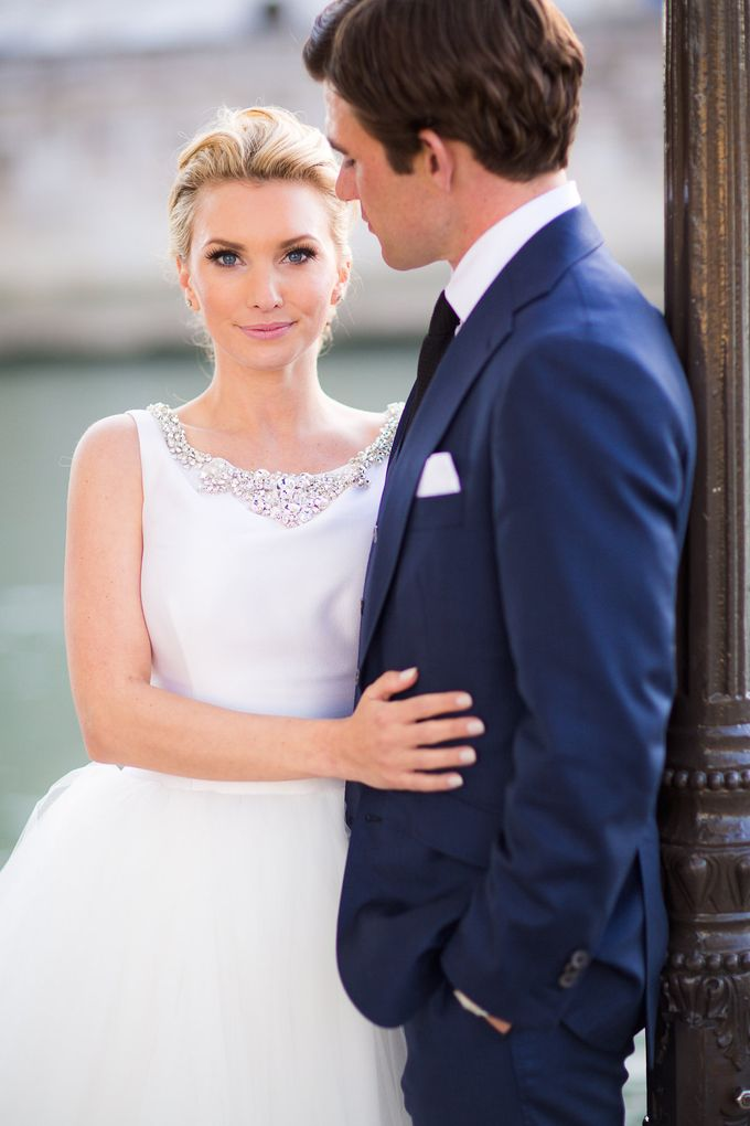 Real Wedding of Bridget & Brian by Luxe Paris Events - 035