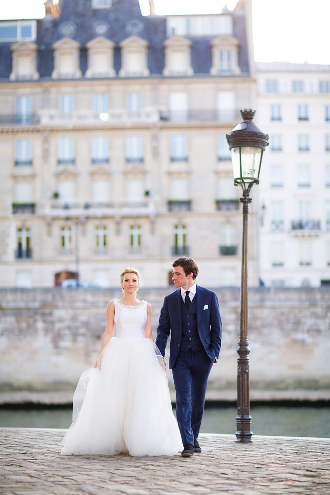 Real Wedding of Bridget & Brian by Luxe Paris Events - 036