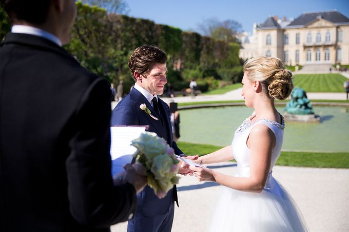 Real Wedding of Bridget & Brian by Luxe Paris Events - 002