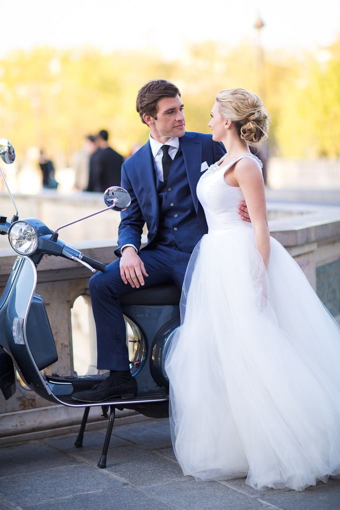 Real Wedding of Bridget & Brian by Luxe Paris Events - 040