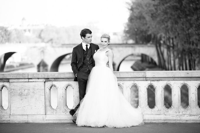 Real Wedding of Bridget & Brian by Luxe Paris Events - 041