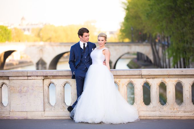 Real Wedding of Bridget & Brian by Luxe Paris Events - 042
