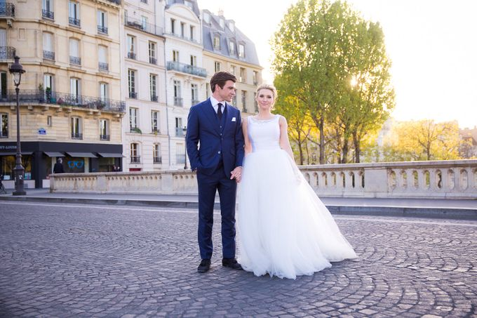 Real Wedding of Bridget & Brian by Luxe Paris Events - 043